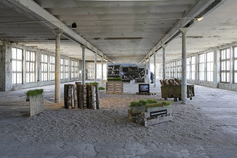 Installation view, photo: Andrejs Strokins, September 2014
